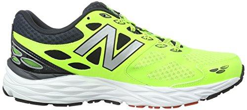 New Balance Neutral, Chaussures de Sport Homme, Vert, EU Amarillo flúor