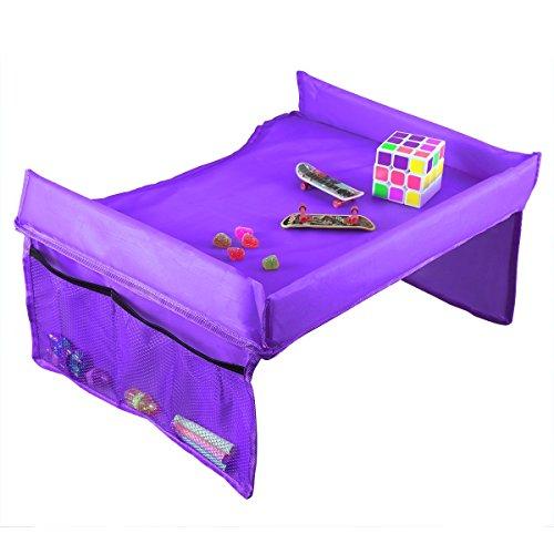Autositz-Tisch von Iskip, für Kindersitz, wasserdicht, tragbar, Esstisch, Spieltisch, Reisetablett...