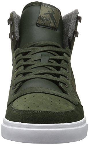 Hummel Unisex-Erwachsene Stadil Winter Sneaker High-Top Grün (Rosin)
