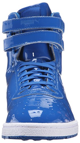 Puma Sky II Hi Patent Emboss Synthétique Baskets Puma Royal