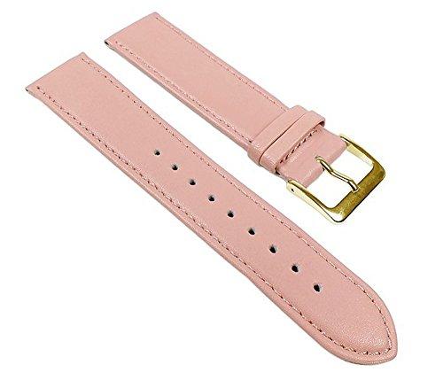 Miami Uhrenarmband Kalbnappa Band Rosa 22596G, Stegbreite:22mm 22mm Rosa Uhrenarmband