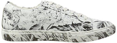 Kenneth Cole Kam, Scarpe da Ginnastica Basse Donna Bianco (White Floral 133)