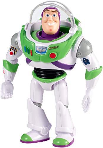 Mattel Disney Toy Story 4-Figura básica Buzz Lightyear con Casco, Juguetes niños +3 años GGX30, Multicolor