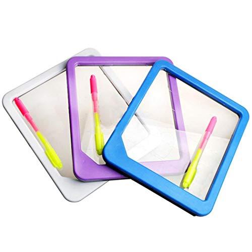 Ysmklo LED Light Schreibtafel Zeichnung Tablet Nachricht Hinweis Spielzeug Geschenk Mehrzwecktafeln