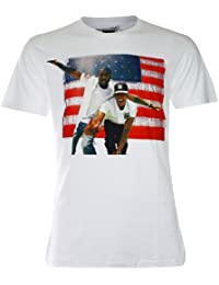 PALLAS Men's Jay Z and Kenye West Rapper T Shirts