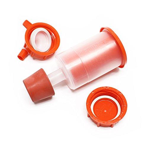 Speidel Getränkefass Mostfass ca 60 L PE-Kunststoff lebensmittelecht mit Ablasshahn und Zubehör - 2