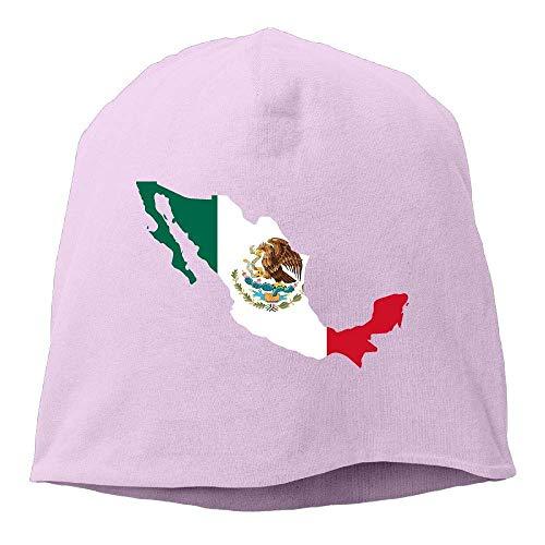 wenwen-HAT Men's and Women's Stretchy Knit Cap, Mexico Map Skull Cap for Mens & Womens flexfit cap - Womens Visor Knit Hat