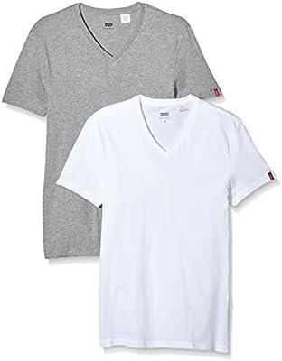Levi's Slim 2 Pack V Neck - Camiseta Para Hombre