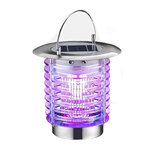 MapleDE Camping Outdoor Kreative Moskito-Mörder, Solar Tragbare Safe Stromschlag Typ Moskito-Killer LED Moskito-Lampe Outdoor Camping Mosquito Lampe