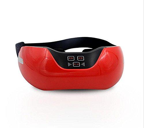 Augenpflege Intelligente Augenpflege Augenmassager Infrarotsensor 3D Augenchirurgie Augenmassagegerät, Red Comfort - Massage