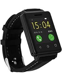 Pulsera Inteligente, Bluetooth Waterproof Smart Watch con Ritmo Cardiaco Monitor, Pulsera Actividad con Cámara Pantalla Táctil / Contador De Pasos/Reloj Compatible con IOS y Android
