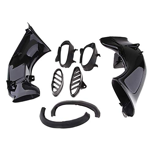 Abs-kunststoff-schlauch (Morning May 2 PCS Schlauch Kunststoff ABS für Yamaha YZF R1 2004 2005 2006)