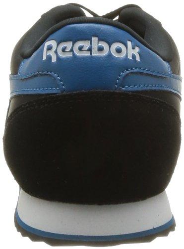 Reebok Reebok Royal Cl Rayen, Baskets mode homme Noir (Black/Conrad Blue)