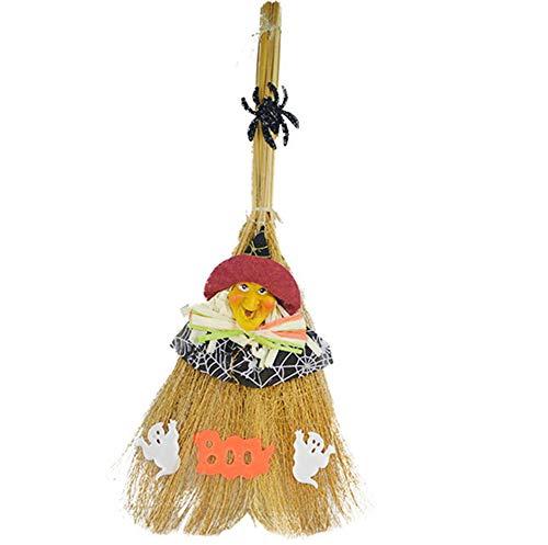 Kostüm Scheinwerfer Preise - Halloween Hexenbesen Show Requisiten Ghost Festival Dekoration Requisiten Magic Broom Hexenbesen