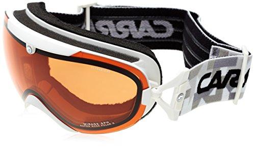 Carrera Damen Skibrille Mirage Sph Weiß/Matt/Graphic/Rosa Polar, Einheitsgröße