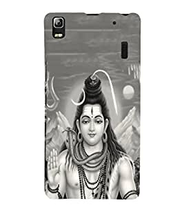 Fuson Designer Back Case Cover for Lenovo A7000 :: Lenovo A7000 Plus :: Lenovo K3 Note (Nataraja Sadashiva Vishveshwara Shankara Nilakantha )