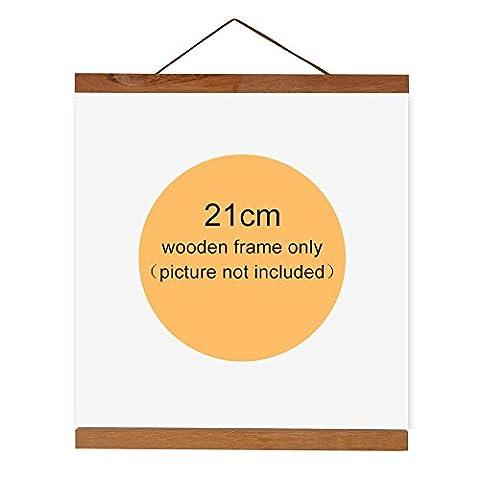 Bilderrahmen von magnetisch Bilderrahmen aus Holz natur Halterung Leinwand-Malerei Bild zeigt für Dekoration Haus, 21 (Leinwand Porte)