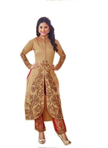 Kashmira's bhagalpuri party wear embroidered salwar kameez