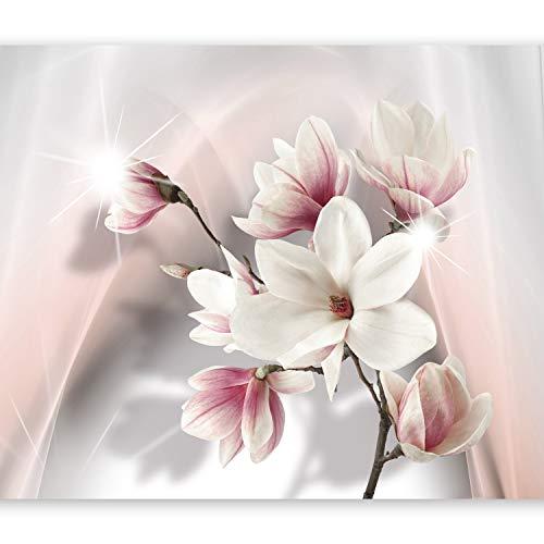 murando - Fototapete Blumen 350x256 cm - Vlies Tapete - Moderne Wanddeko - Design Tapete - Wandtapete - Wand Dekoration - Blumen b-A-0201-a-b