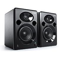 Alesis Elevate 5 MKII - Pareja de altavoces de escritorio y monitores de estudio amplificados, para producción musical, PC/Mac, multimedia, juegos 120 W