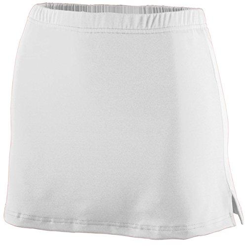 Ladies' Polyester/Spandex Team Skort WHITE L (Skort Team)