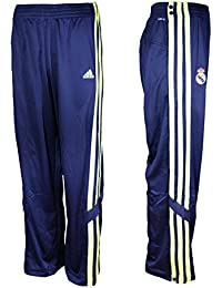 adidas Real Madrid Herren Basketball Hose Jogginghose Knopfhose Climalite D80314