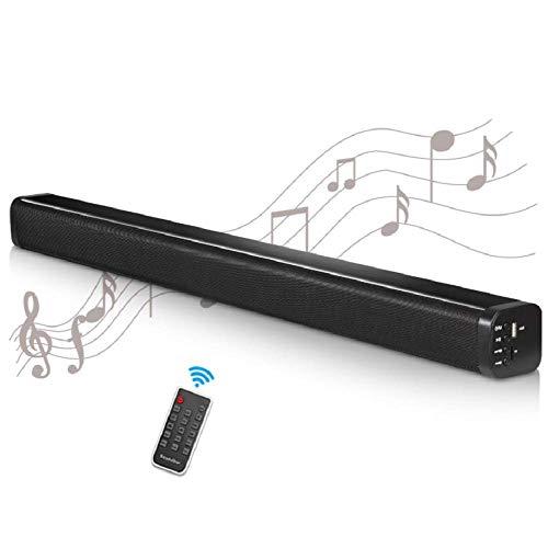 WSJ Bluetooth-Lautsprecher, Wireless-Sound-Effekt, 40W High Power, USB, AUX, Stereo-Röhren-Design, Aluminium-Legierung Stereoanlage, TV Wohnzimmer, Im Freien