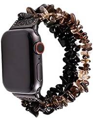 Maayun Para Apple Watch 4 3 2 1Watch Band Beads Bracelet Jewelry Strap Strap 38 40 42 44 MM (38-40-C)