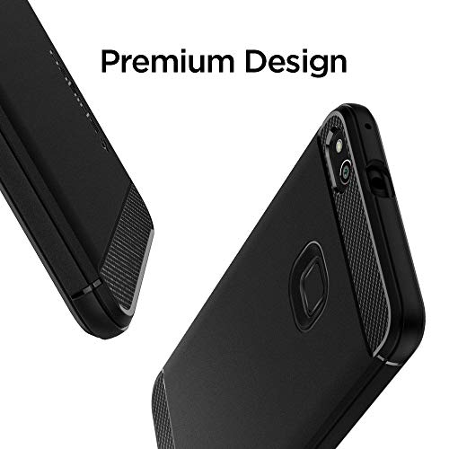 Spigen L14CS21508 Rugged Armor Cover Huawei P10 Lite - Nero
