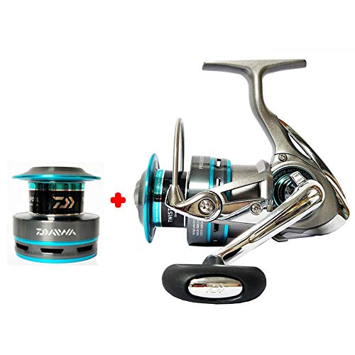 DAIWA PROCASTER A 2000A 2500A 3000A 4000A Spinning Fishing Reels Double Metal Spool 7BB Saltwater Carp Feeder Fishing Pesca - 4000 Series (Angelrollen Saltwater Daiwa)