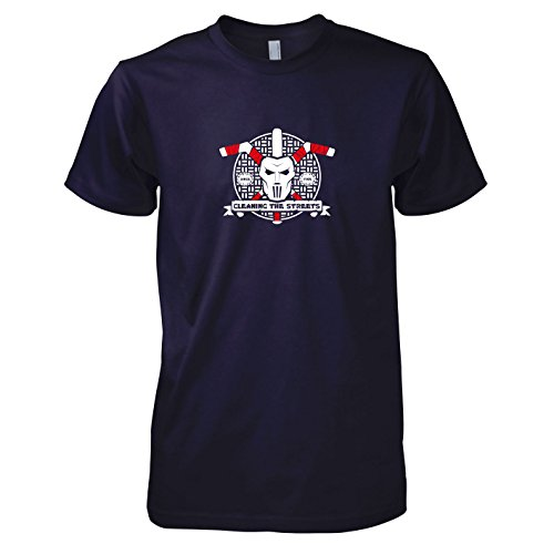 TEXLAB - Cleaning the Streets - Herren T-Shirt Navy