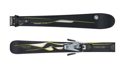 HEAD Damen All-Mountain Ski schwarz 163