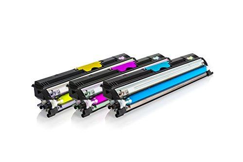 Tonerzilla ersetzt Konica Minolta A0V30NH Toner Spar Set (C,M,Y) (Printing Minolta Konica Solutions)