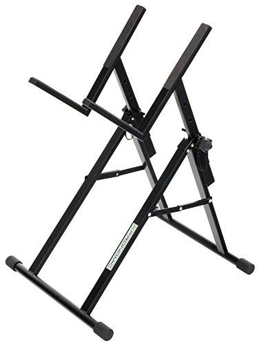 Pronomic AS-100 E-Gitarre Verstärker Ständer (Amp Stativ, Höhenverstellbar, in 7 Stufen, Belastbar bis 30kg, Schwarz)