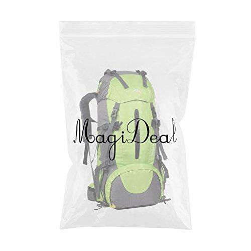 Generic 50 Liter Wanderrucksack, Wasserdichter Rucksack, perfekt für Wander, Klettern, Bergsteigen, Radsport - Reiserucksack Grün