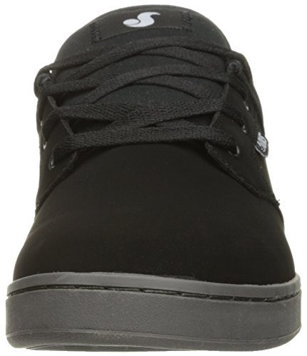 DVS Shoes Quentin, Baskets Homme, Noir Noir (nubuck)