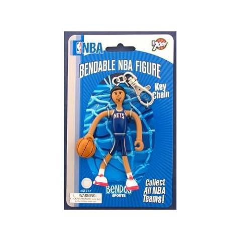New Jersey Nets BENDOS Flexible Porte-clés