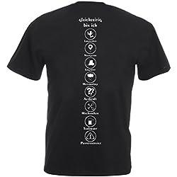 """Fun Trucker LKW-Fahrer T-Shirt: """"Ich bin außerdem – Logistikzentrum, Navigationsystem, Lagerist, Meteorologe, Auskunft, Mechaniker, Tankwart, Pannenservice"""""""