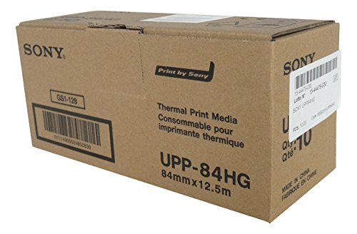 SONY UPP84HG Rollos papel térmico alto brillo impresoras