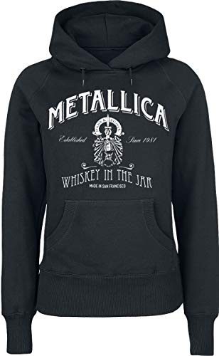 Metallica Whiskey In The Jar Sudadera con Capucha Negro XL