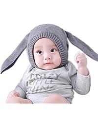 02db70d08dd Hosaire® 1pc Bonnet De Noel en Coton Bonnet Chaud Enfant De Noel Bonnet en  Coton Épais Bonnet De Noël Classique…