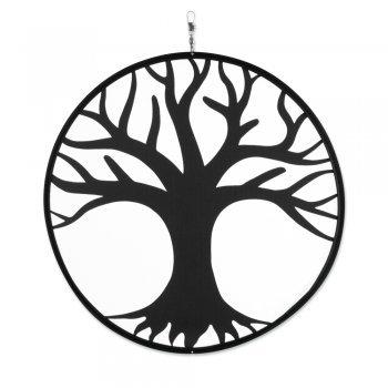 Carillon – tambouri vie coton – aux UV et aux intempéries – Disque Ø : 30 cm – avec Tourbillon Mousqueton Clip et ficelle