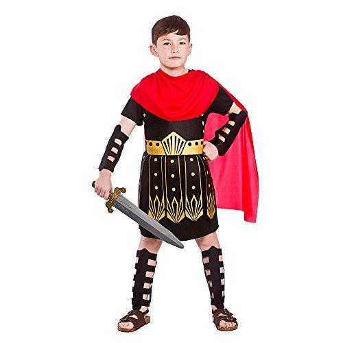 (M) (5–7) Jungen römischen Commander Kostüm für Gladiator Centurion ceaesar Fancy Kleid Outfit