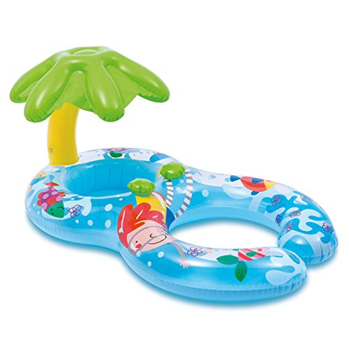 LMMA Infant Shade Seat Child Mother Seat Baby Swim Ring Children Floating Ring 1-3 Years Old