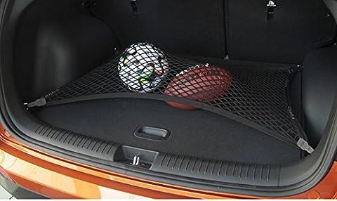 Pegasuss Black Mesh Floor Trunk Cargo Net SUV Storage Organizer Net for Audi Q3