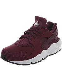 the latest f6cdf e5d1d NIKE Air Huarache Run SE Womens Shoes BordeauxBlackWhite 859429-601 (