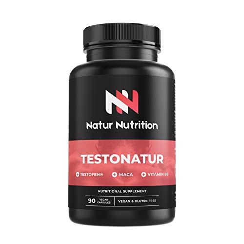Testosterona testofen + maca+ taurina+ ginseng + Zinc + B6....