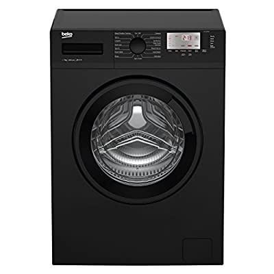 Beko WTG741M1B A+++ Rated 7kg 1400 Spin 15 Programmes Washing Machine in Black
