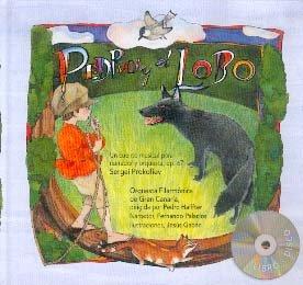 Pedro y el lobo ( + CD ) (La Mota De Polvo) por Sergey Prokofiev