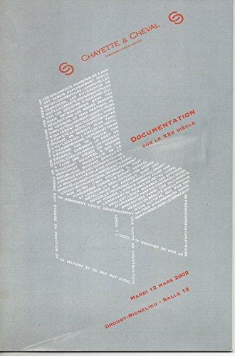 Documentation sur le XXe sicle : Vente, Paris, Drouot-Richelieu, salle 12, 10 dcembre 2002